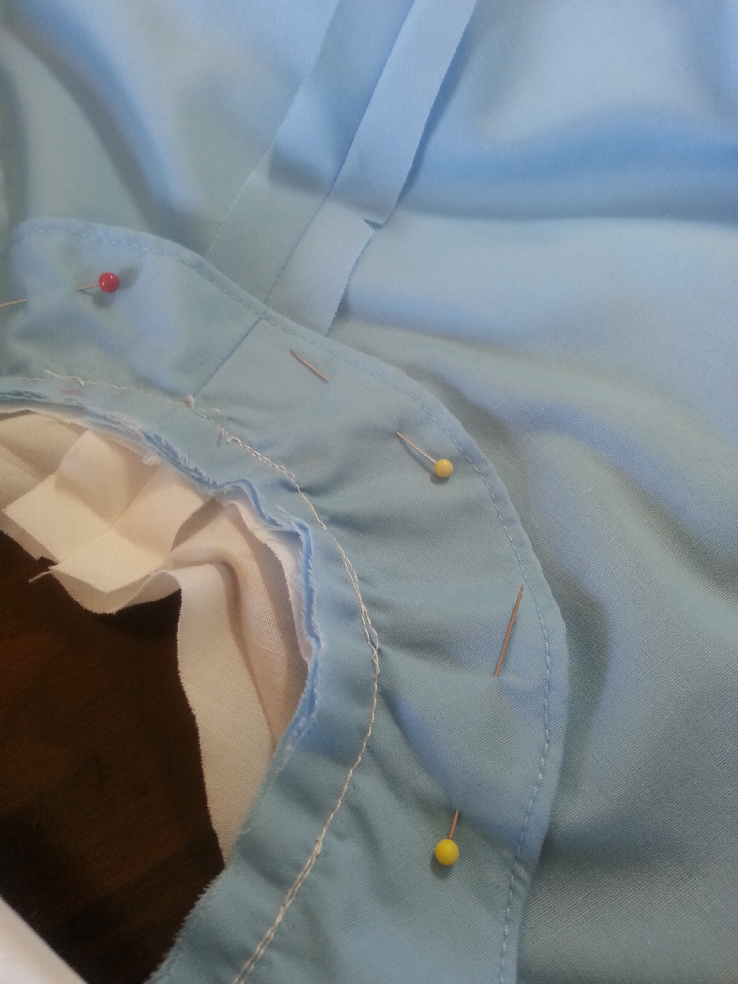 Picture of Top Stitch the Binding in Place
