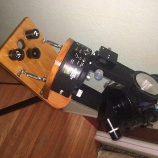 Adjustable Equatorial Wedge (Telescope Tripod Meade ETX60/70)