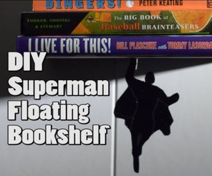 Superhero Floating Bookshelf