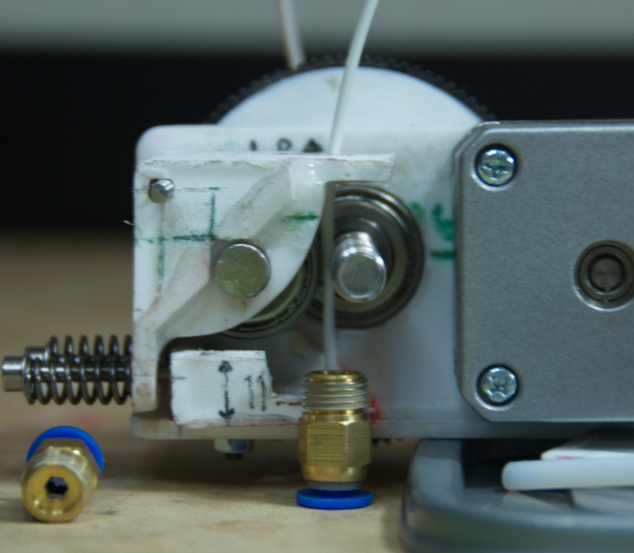 Picture of Extruder: Bowden 'Quickfit' Alternative