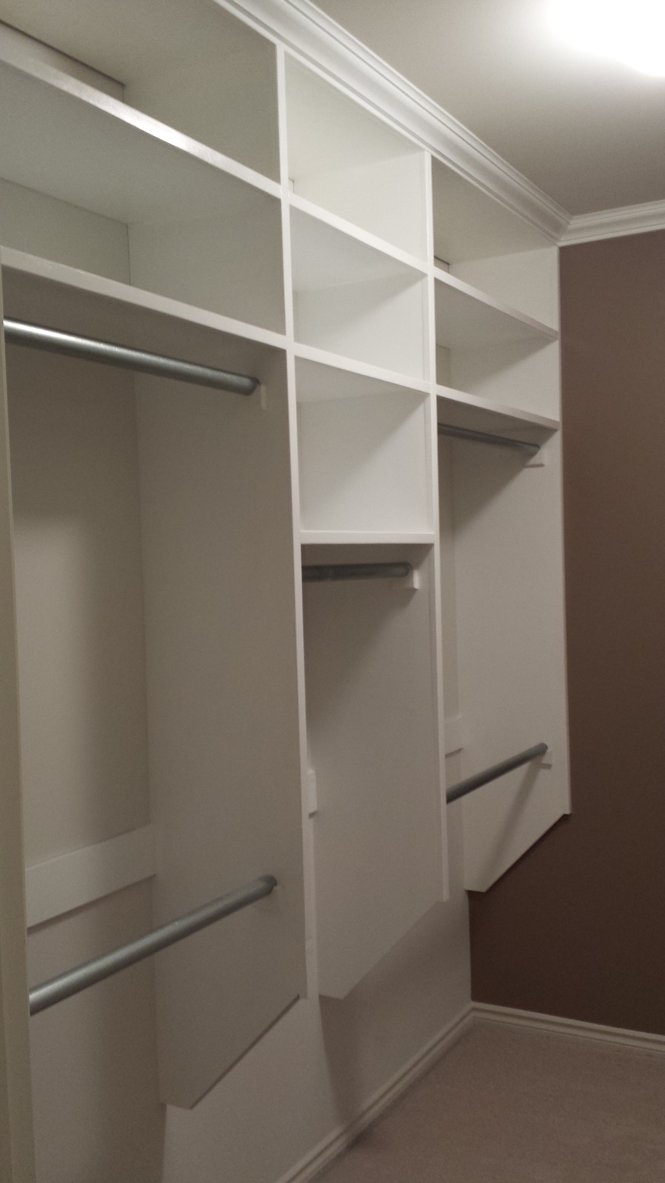 Walk In Closet Make Over On Budget 8 Steps With Pictures