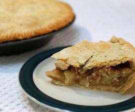 Homemade Apple Pie With Flaky Crust