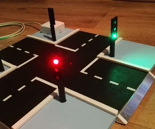 Crossing With Traffic Lights for Kids
