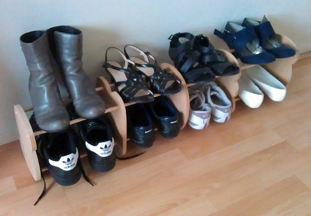 Picture of Easy Design Shoe Rack