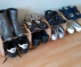 Easy Design Shoe Rack