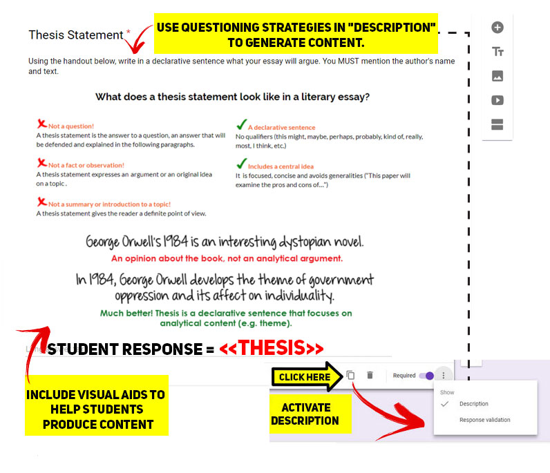 Picture of Structuring the Google Form - Part III