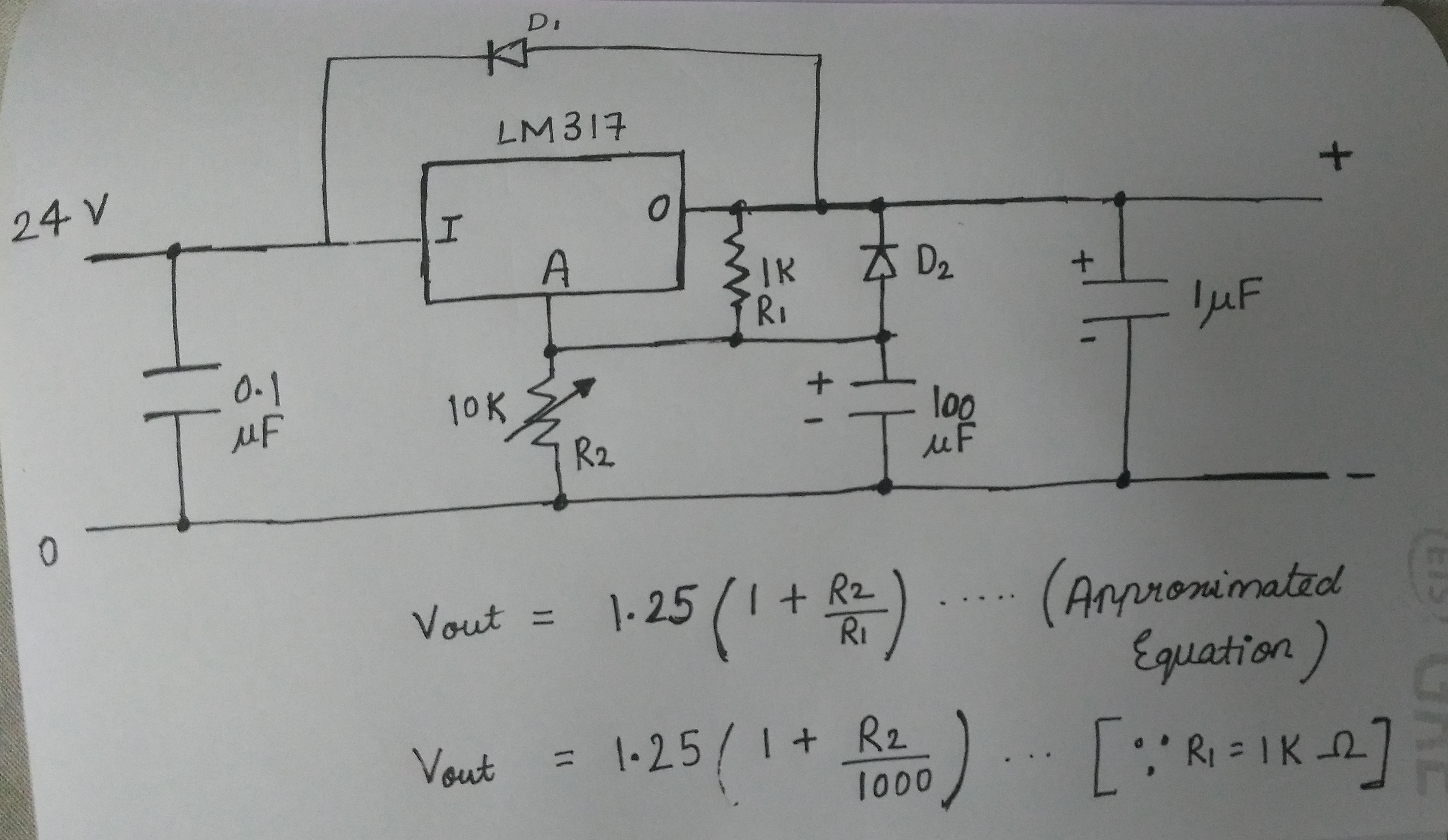 Picture of Understanding Lm317 Circuit