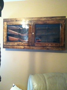 Three Gun Vertical Gun Case