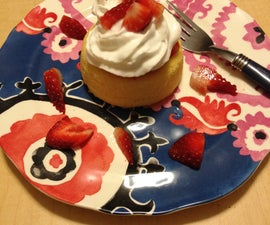 How to Make Strawberry Shortcake in 10 Minutes