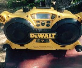 Dewalt Radio Cord Replacement