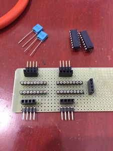 MOUNTING THE ELECTRONIC PARTS/MODULES