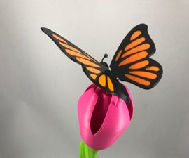 Butterfly, Animated.