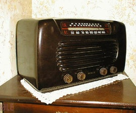 How to Fix a Classic American AM Tabletop Tube Radio
