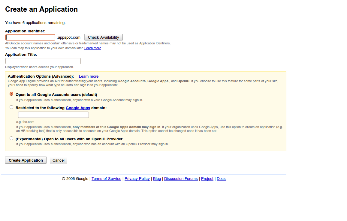 Picture of Google App Engine