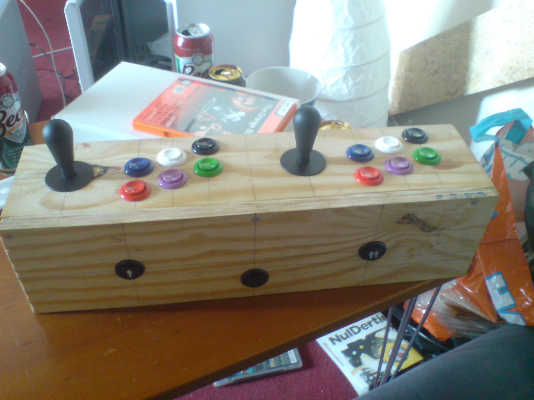 Picture of Controls - Mounting the Buttons