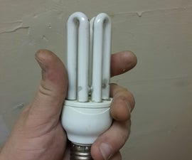 What to salvage from energy saver light bulb
