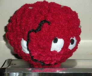 Crocheted Meatwad