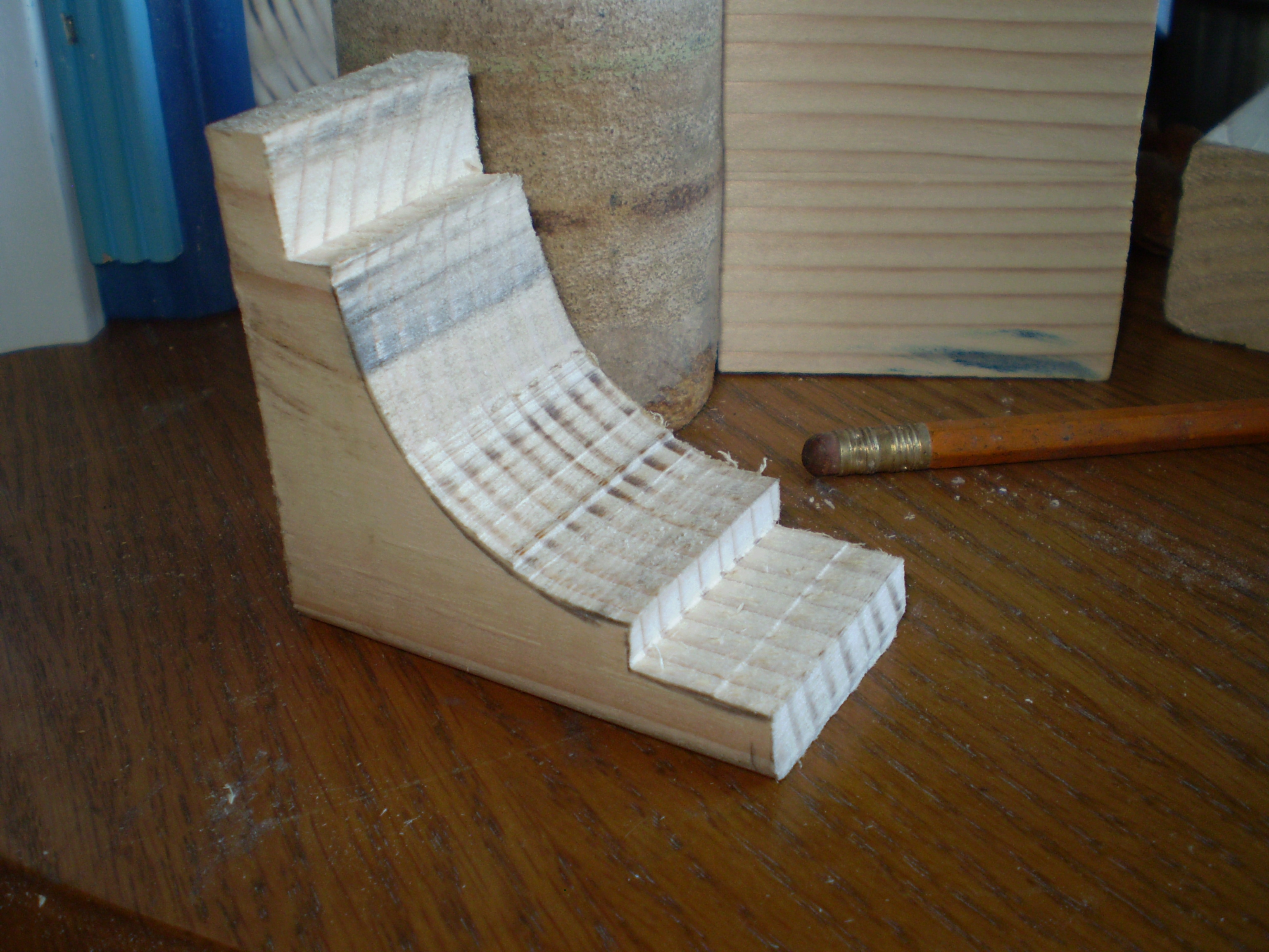 Picture of Making the Center Blocks
