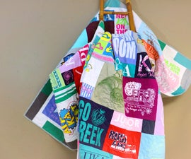 Collage Style T-Shirt Quilt