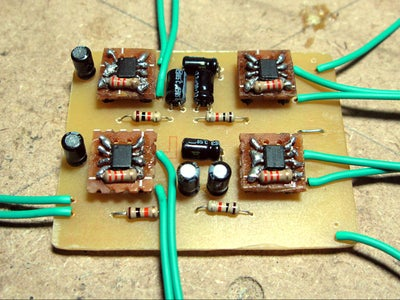 Fabricating the Amplifier