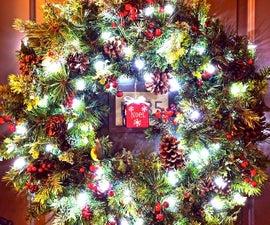 Making a Winter Seasonal Wreath