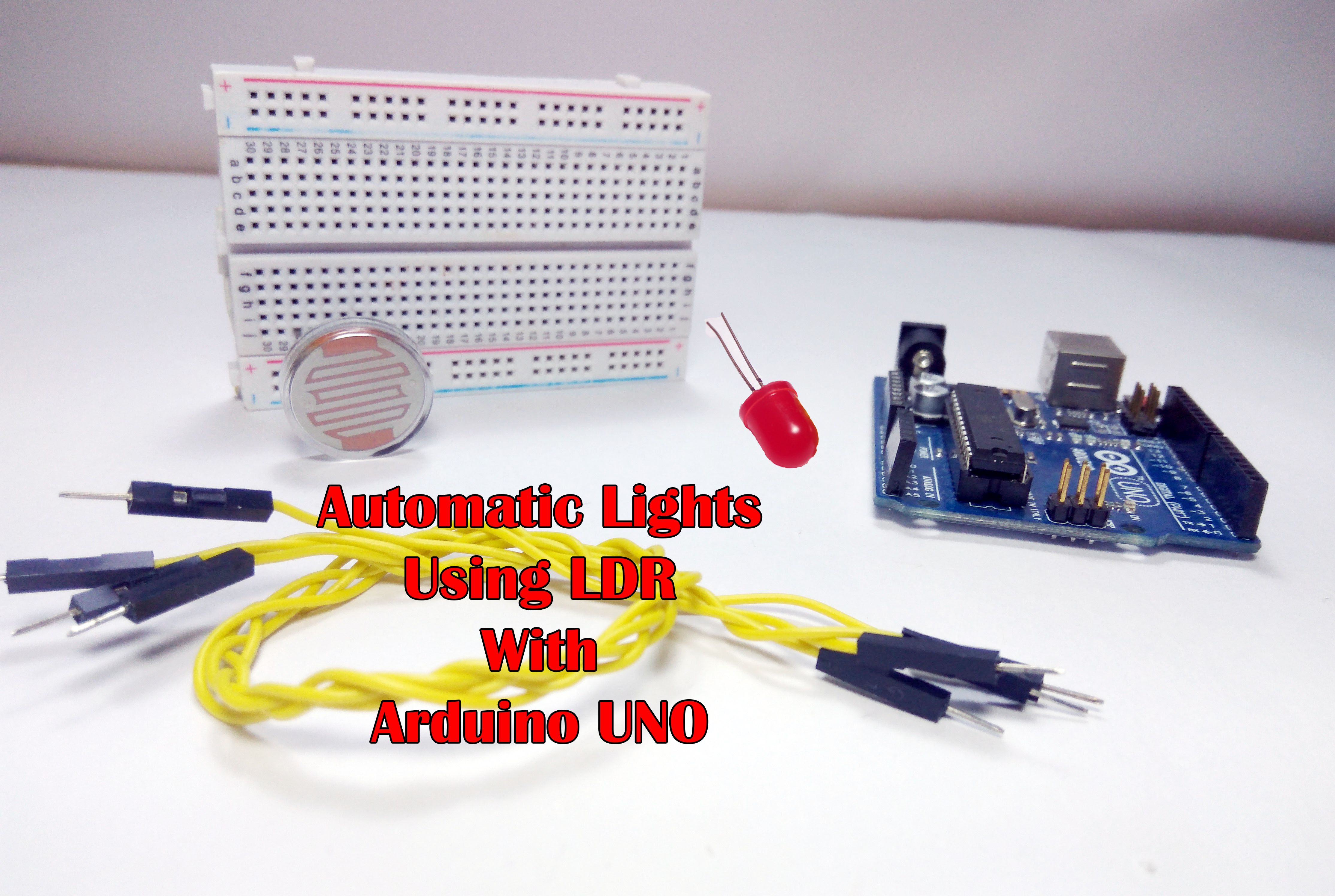 Picture of Automatic Lights Using LDR (Brightness Control)