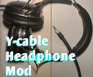Modify Your Y-cable Headphones!