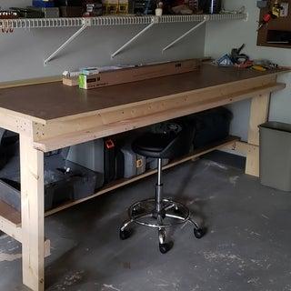 The Very Rigid $45 Eight Foot Workbench
