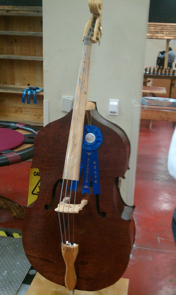 Making a Plywood Upright Bass