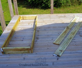 Outdoor Sun Loungers, Wood Working Project!