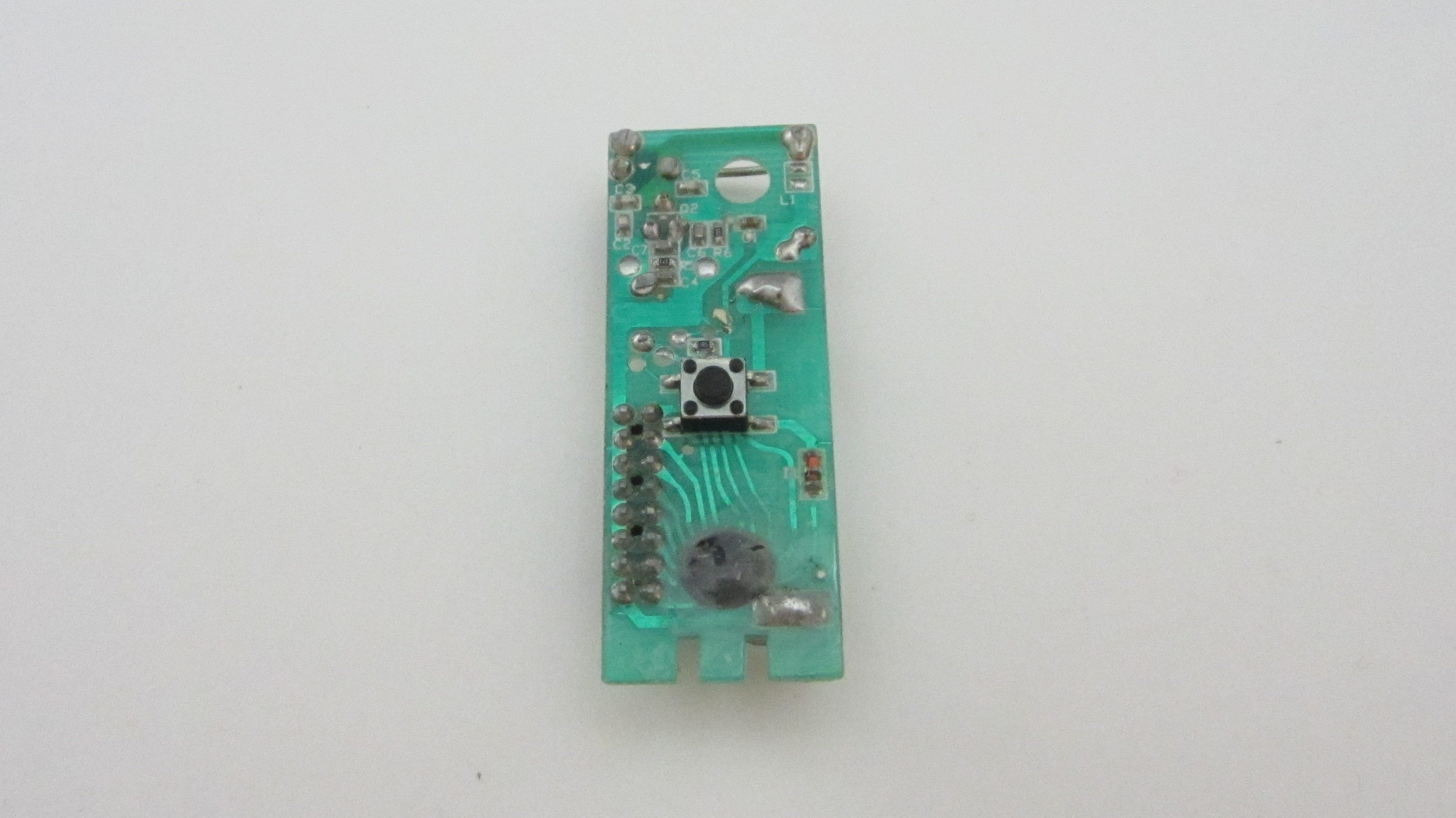Picture of Add Wires to the Switch on the Transmitter