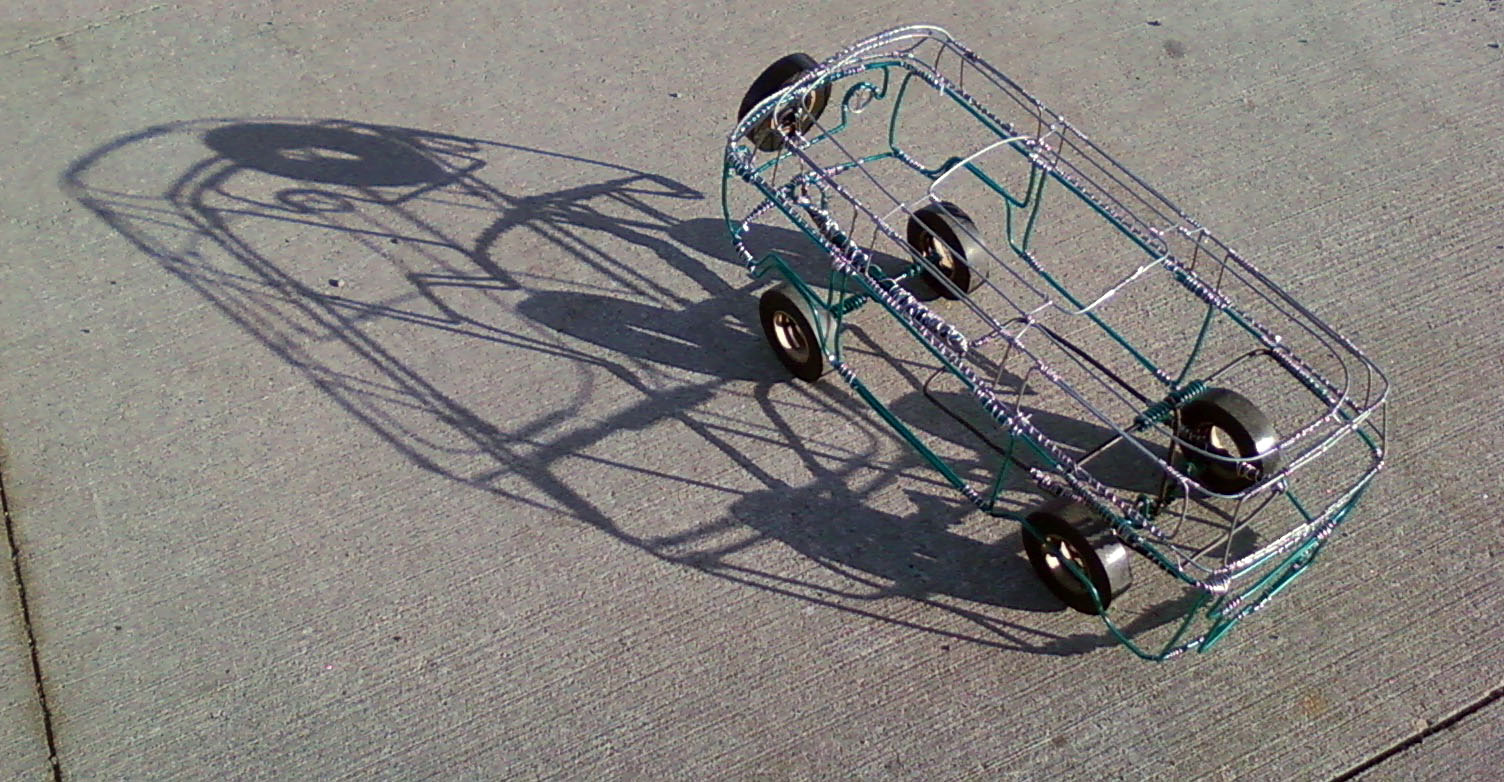 Wire Car Push Toy: 9 Steps (with Pictures)