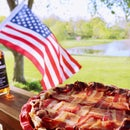 Bourbon & Bacon Smoked Apple Pie