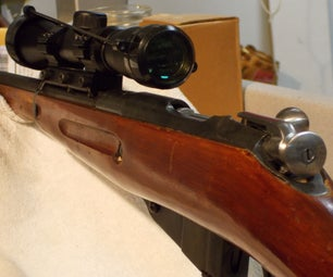 """Mosin Nagant Scout Scope With Leapers Accushot 1"""" Mount"""