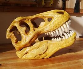 3D Printing Dinosaur Skull
