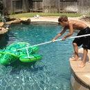 PVC Pool Tool (DIY Shepherd's Hook)
