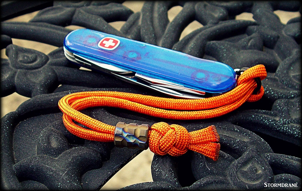 Picture of Finishing Paracord Ends...