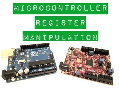 Microcontroller Register Manipulation