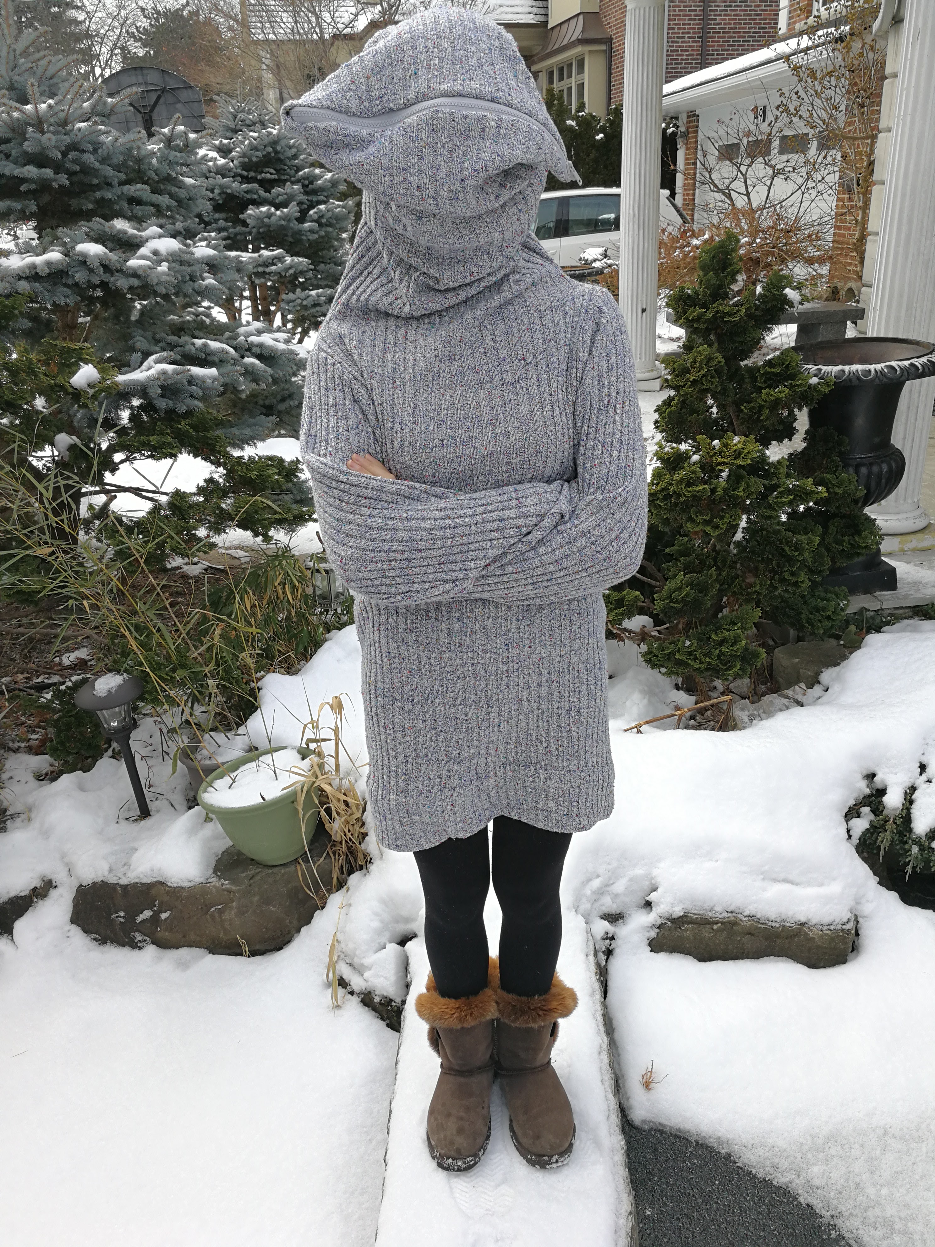 Picture of Leave Me Alone Sweater