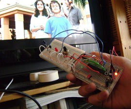 How to control TV functions using Analog input and Arduino