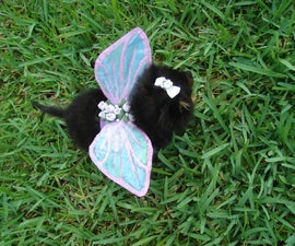 Puppy Fairy Costume Wings