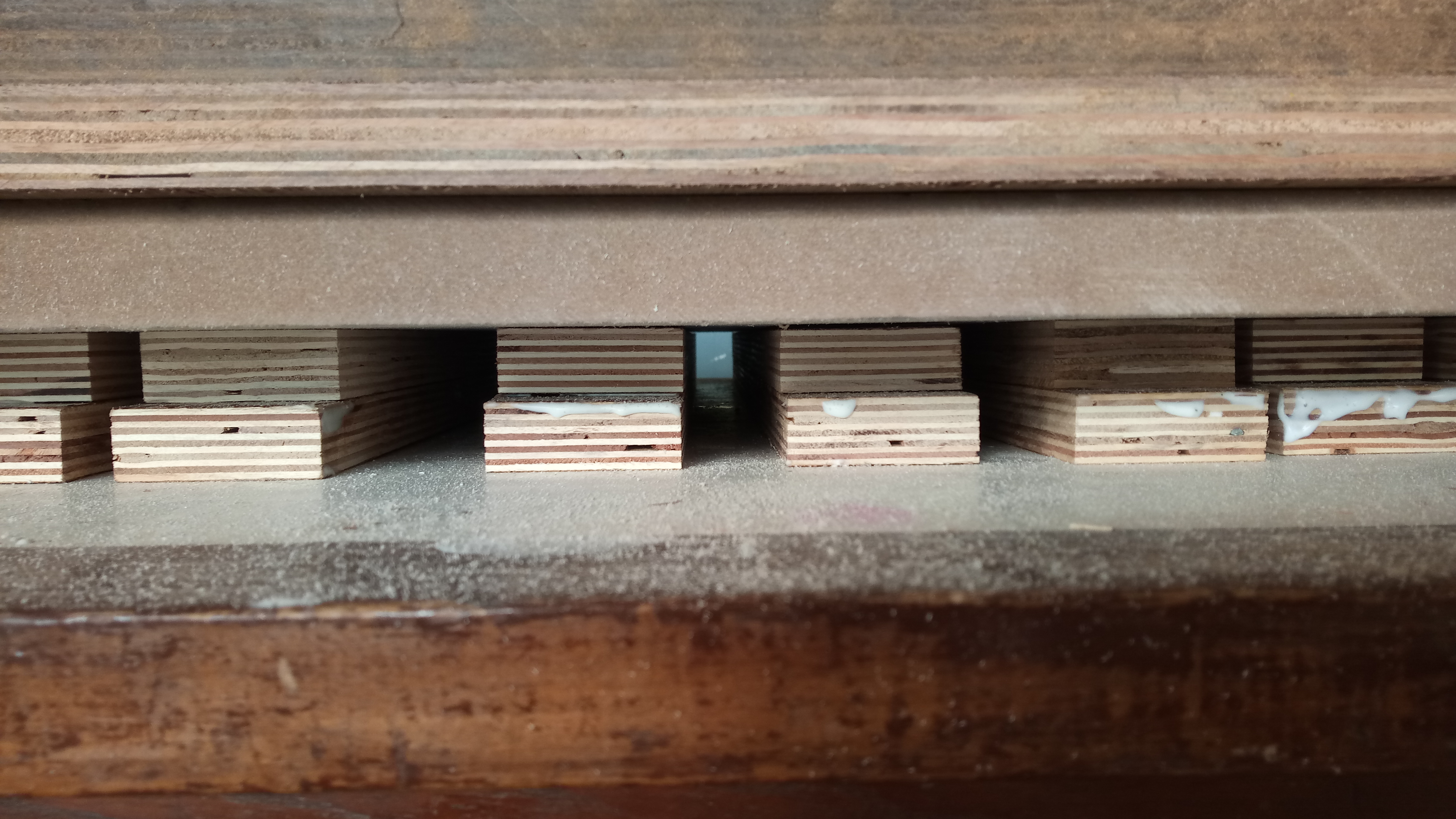 Picture of Dowels: Sticking