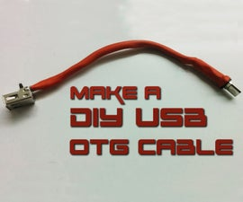 How to make USB OTG cable