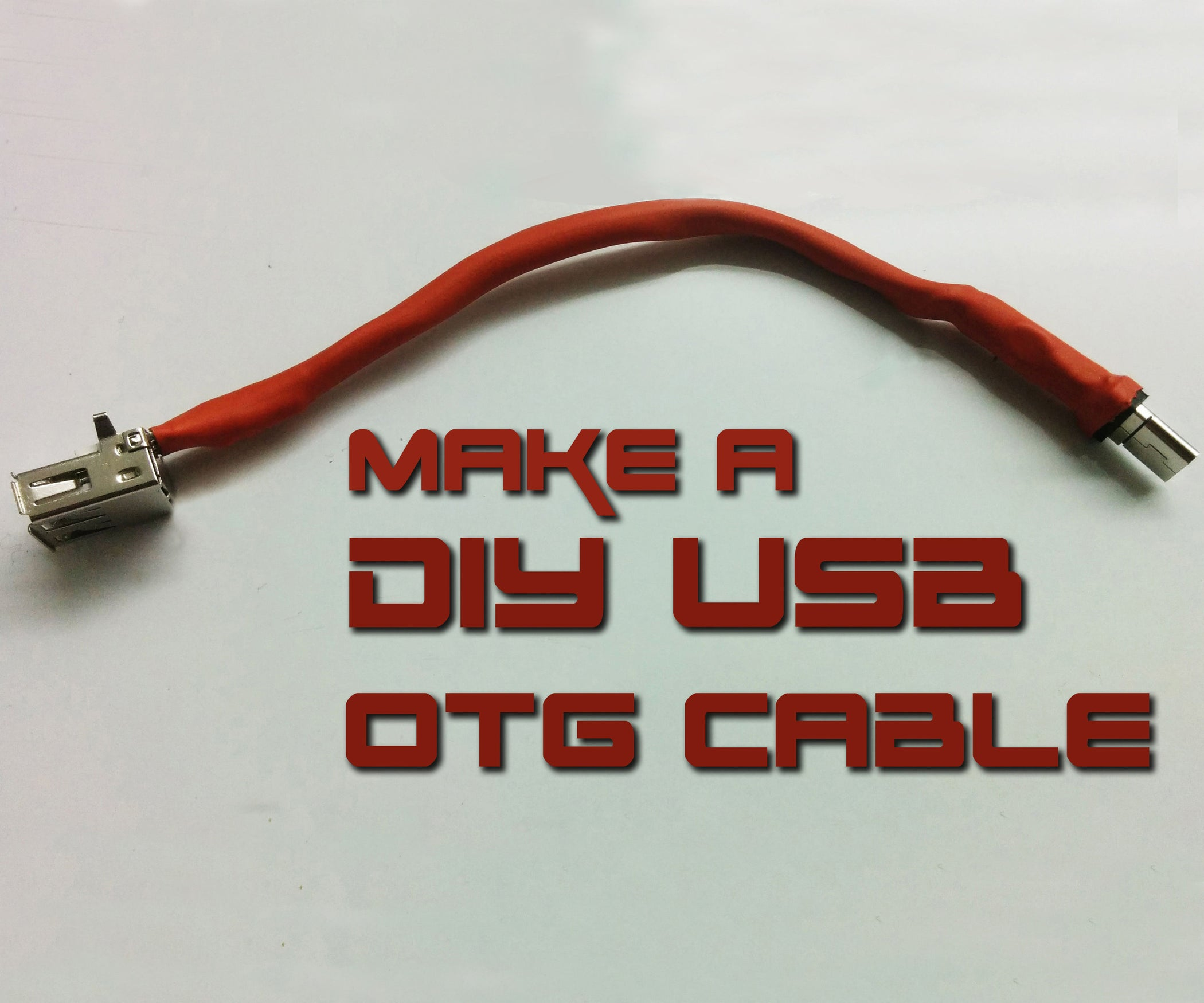 How to Make USB OTG Cable: 5 Steps (with Pictures)