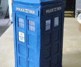 How to make a TARDIS model