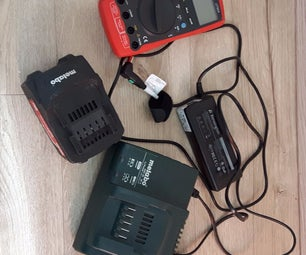 Cordless Tool Battery Laptop Charger