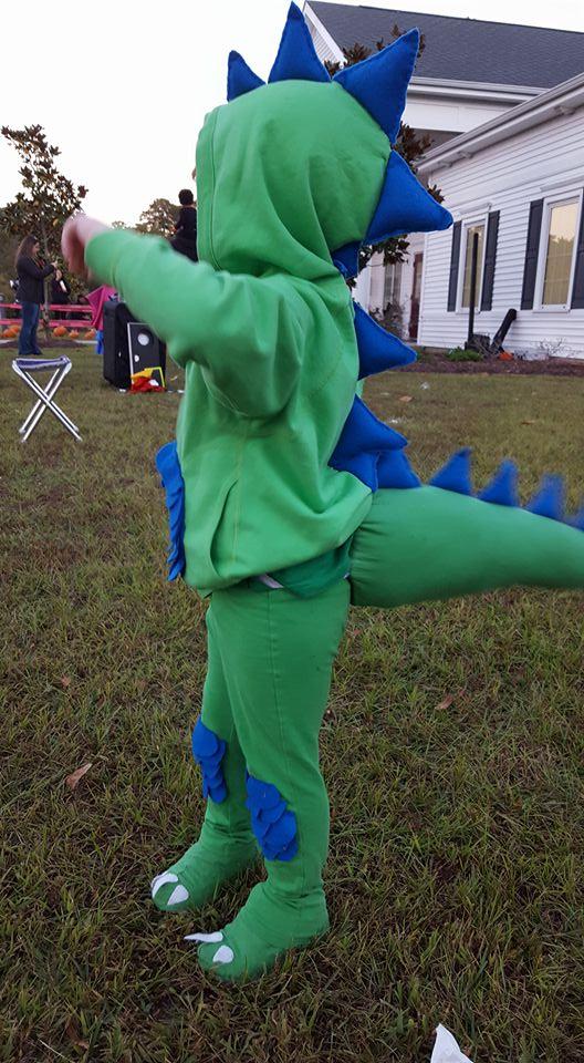 Picture of Diy Dinosaur Costume.