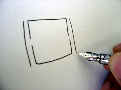 Draw a Couple of Lines Next to the Square