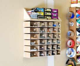 Small Hardware Storage Bins