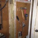 Hidden Heated Cabinet.